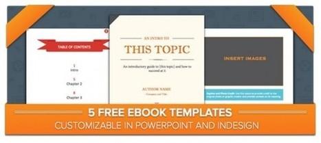 5 plantillas gratuitas para crear tu libro electrónico | mi primer Topic | Scoop.it