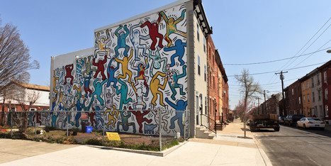 Iconic Keith Haring Mural Is Restored, Bringing Endless Smiles To South Philly Streets | Art Symbolism | Scoop.it