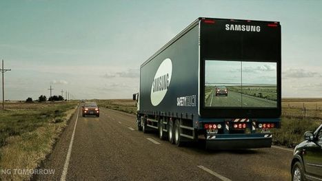 Samsung's 'See-Through' Truck Aims to Make Roads Safer | I didn't know it was impossible.. and I did it :-) - No sabia que era imposible.. y lo hice :-) | Scoop.it