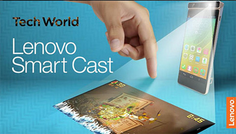 VIDEO: Lenovo unveils Smart Cast, smartphone with built-in laser projector | Tech Latest | Scoop.it