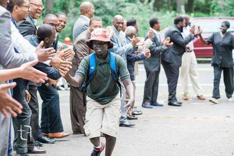 Why 100 Black Men In Suits Were Cheering In Front Of A Bus | This Gives Me Hope | Scoop.it