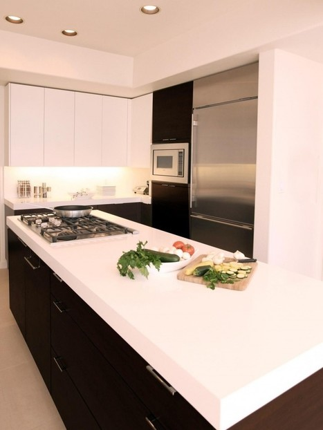 Wonderful Countertops for White Kitchen Cabinets   This For All   Home Design From Interior PIN   Scoop.it