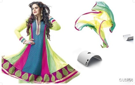 Queen Zarine Khan Designer Dress Wardrobe Collection 2013 | Best collections of Indian Art | Scoop.it