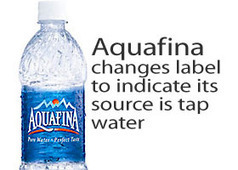 Aquafina Changes Label to Identify Water Source | It's Show Prep for Radio | Scoop.it