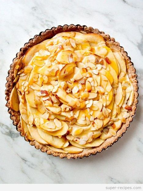 Gluten Free Vegan Apple Tart | Recipes | Scoop.it