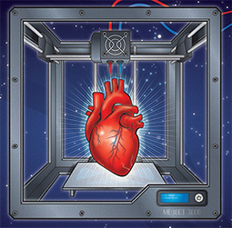 Major 3D Printed Organ Breakthrough: Vascular Networks Achieved | leapmind | Scoop.it