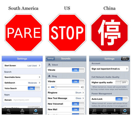 iPhone Apps Design Mistakes: Over-Blown Visuals | Smashing Mobile | Expertiential Design | Scoop.it