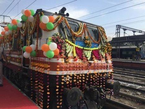 Suresh Prabhu flags off 'Gatimaan Express', India's first semi-high speed train; ticket price starts Rs750 | IRCTC Info | Scoop.it