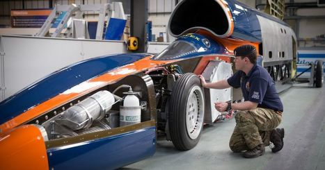 Bloodhound's land speed record revived by Chinese car giant | Heron | Scoop.it