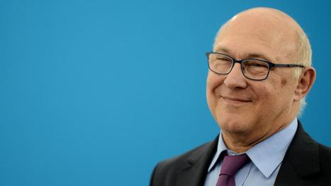 "VIDEO. Michel Sapin : ""Notre amie c'est la finance, la bonne finance"" - Francetv info 