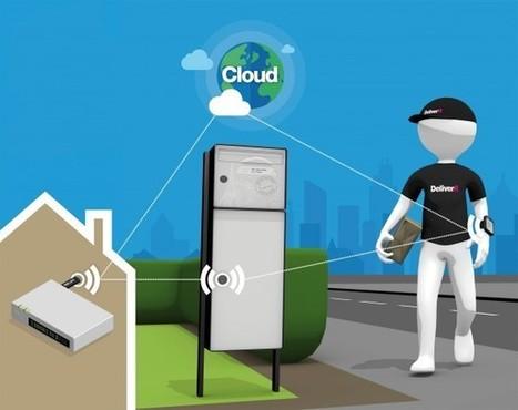 CES 2014 : Signée va dévoiler sa boîte à colis intelligente Click and Collect at home | connected home | Scoop.it