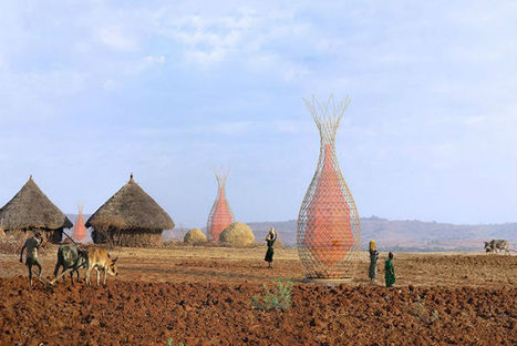 Bamboo Towers Harvest Water from the Air | Construction | Scoop.it