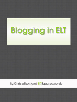 Proof readers wanted for Blogging in ELT eBook | TELT | Scoop.it
