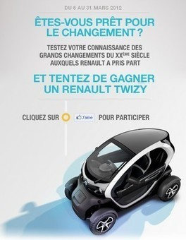 Renault investit les réseaux sociaux avec We Are Social   Cuisine   Scoop.it