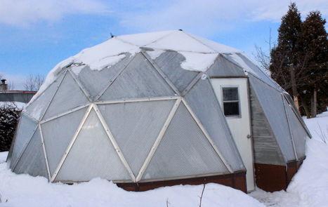 Une serre sous la neige | décroissance | Scoop.it