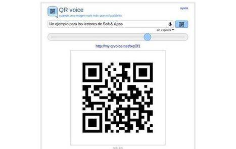 QR voice, comparte mensajes de voz por medio de códigos QR | VIM | Scoop.it