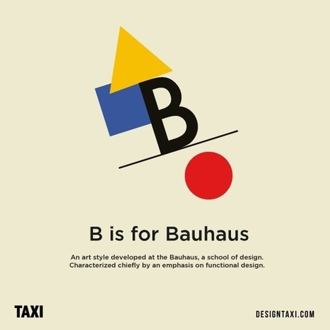 Designer matches letters of the alphabet with different art styles | D_sign | Scoop.it