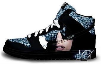 Blog - Lady Gaga Dunks Custom Nike Shoes Fashion Pattern   Comic Nike Dunks   Scoop.it