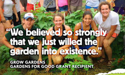 Feed Your Community With a $15,000 Gardens for Good Grant—Apply Now!   EcoWatch   Scoop.it