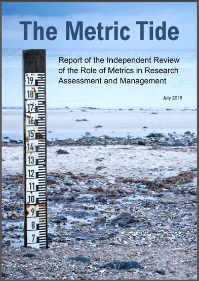 The Metric Tide: Report of the Independent Review of the Role of Metrics in Research Assessment and Management | Gestire dati e informazioni | Scoop.it