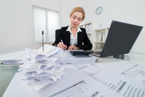 L'entreprise numérique n'est pas encore sans papier | Economie Numérique | Scoop.it