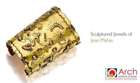 It's hard to mistake a piece of Jean Mahie as something else | Jewellery Design Courses | Scoop.it
