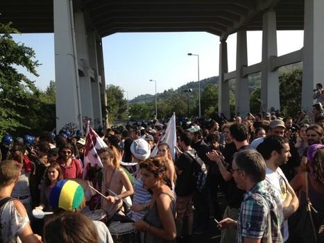 Manifestantes cortaram acesso à Ponte 25 de Abril | Greve Geral | Scoop.it