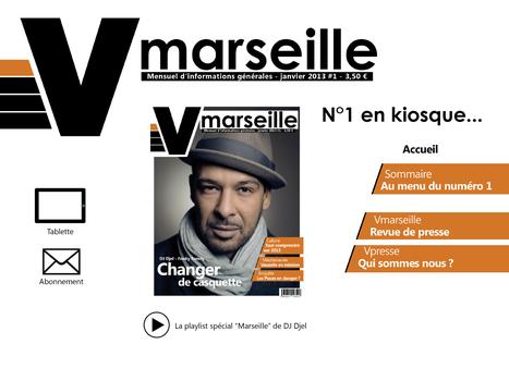 Vmarseille - magazine mensuel d'informations générales   Ici Marseille, ça bouge   Scoop.it