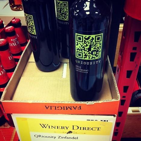 Zinfandel QRiousity Wine | QRdressCode | Scoop.it