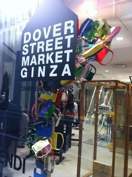 Diane, A Shaded View on Fashion: A visit to Dover Street Market in ...   COMME des   Scoop.it