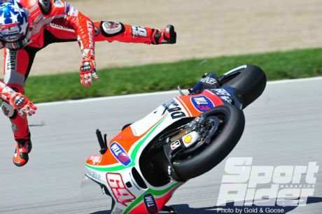 Hayden and Stoner—electronics reason for Indy highside crashes? - Sport Rider Magazine | Ductalk Ducati News | Scoop.it