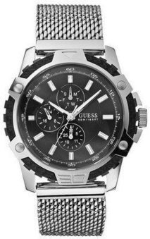 Guess Quartz Stainless Steel Black | Seiko Velatura Chronograph | Scoop.it