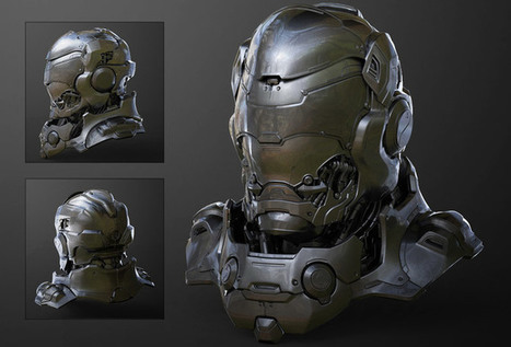 Hard Surface 3D Modeling for Production by Chung Kan | CGVILLA | CGVILLA | Scoop.it
