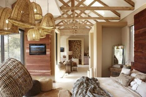 Natural Textures Meet Contemporary Interiors At The Olive Exclusive Hotel In Namibia | Adelle's Destinations | Scoop.it