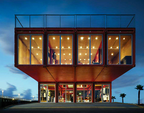 Puma City: A Traveling Modular Store from Shipping Containers | Arquitectura Móvil y Modular - Inatech Finishing Center | Scoop.it