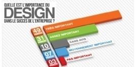 Infographie : Design : le bleu, la couleur préférée des PME   DESIGN   Scoop.it