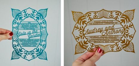 These Amazing Wedding Invitations Will Get Your Guests SO Psyched for Your Wedding. (Plus, a Discount Code!) | expensiven | Scoop.it