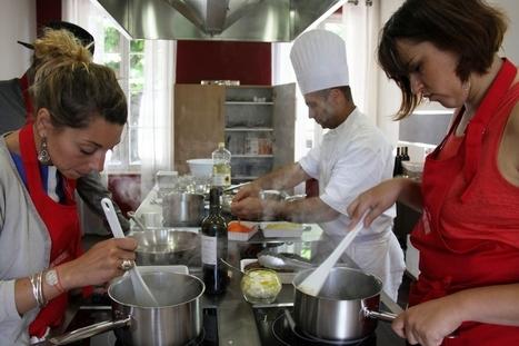 Atelier cuisine chez un producteur de grands crus, à Saint-Emilion - Actionco.fr | dordogne - perigord | Scoop.it