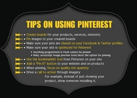 3 Small Business Pinterest Marketing Tips | Pinterest | Scoop.it