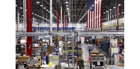 L'industrie américaine s'est accélérée en mai   Renaissance de l''industrie américaine   Scoop.it