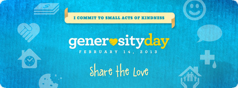 i heart generosity day (with a giveaway, of course) - my blog - Ordinary Courage | Balance | Scoop.it