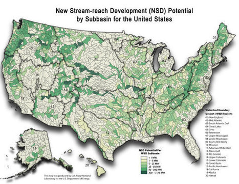 Feds Say Hydropower Capacity Could Be Doubled In U.S. | Modern Cartographer | Scoop.it
