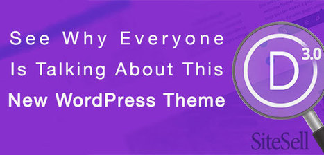 See Why Everyone Is Talking About This New WordPress Theme - The SiteSell Blog | The Content Marketing Hat | Scoop.it