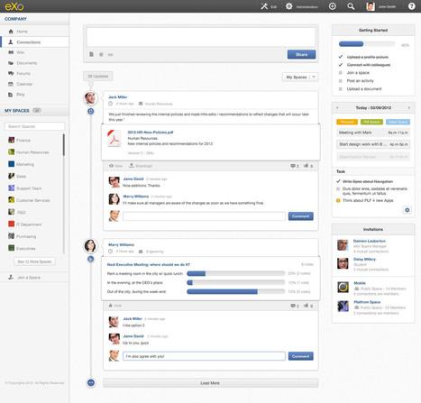 Avant Première eXo Platform 4.0 au Salon Solutions Intranet et ... | Plateforme - TI | Scoop.it