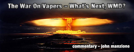 The War On Vapers – What's Next, WMD? - Spinfuel Magazine | E-Cigarettes | Halo Cigs | Scoop.it