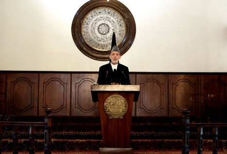 In Farewell Speech, Karzai Lashes Out at American Agenda | Lawless land | Scoop.it