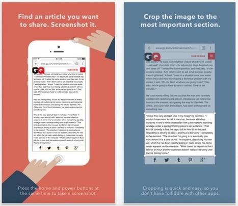 OneShot: l'app per condividere estratti di articoli tramite Twitter - iPhoneItalia - Il blog italiano sull'Apple iPhone | Scoop Social Network | Scoop.it