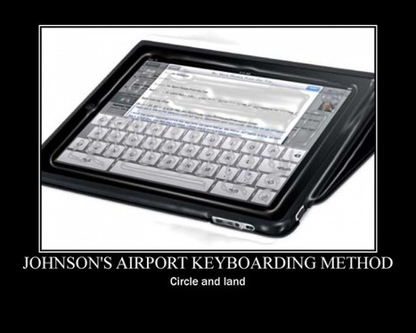Ten terrific tips for typing on a tablet - Doug Johnson's Blue Skunk Blog | Education tips | Scoop.it