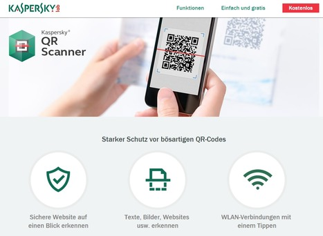(TOOL) QR Scanner | Starker Schutz vor gefälschten QR-Codes | Kaspersky Lab | 1001 Glossaries, dictionaries, resources | Scoop.it