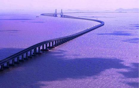 Danyang Kunshan Grand Bridge | Asia: Modern architecture | Scoop.it